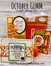 October Craft A-Long Kit - GLMM