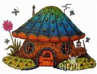 Mushroom Lane Underwater House