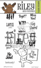 Lead In Sayings 1 - Tablet Riley clear stamp set