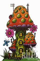 Mushroom Lane Tri-Level House