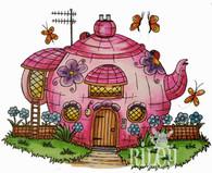 Mushroom Lane Teapot House