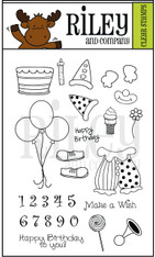 Dress Up Riley - Birthday Accessories Clear Set