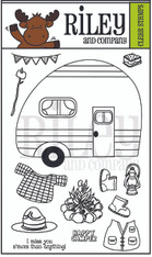 Dress Up Riley - Camping Accessories Clear Set