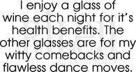 Wine for health benefits