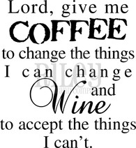 Coffee to Change the Things I Can