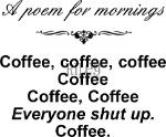 A poem for mornings