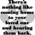 Barking loved ones