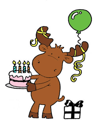 Super Riley And Company Riley The Moose Red Rubber Stamps Funny Bones Funny Birthday Cards Online Overcheapnameinfo