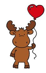 Heart Balloon Riley