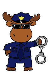 Police Moose