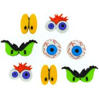 Monster Eyes Buttons