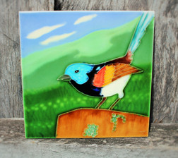 Blue Wren tile