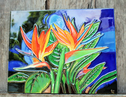 Bird Of Paradise Tile Large