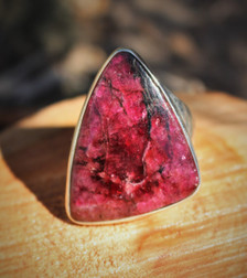 Eudialyte Ring Size 8