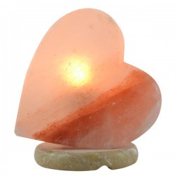 Heart shaped Himalayan Salt Lamp