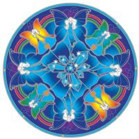 Crystal Fairy Mandala - Sunseal