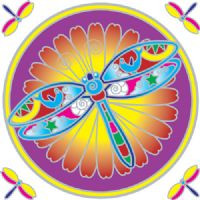 Dragonfly Mandala - Sunseal