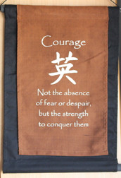 'Courage' - Affirmation Banner Sml