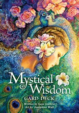 We are pleased to present our latest title with art by the amazing Josephine Wall, who also illustrated Nature's Whispers Oracle and Whispers of Love Oracle, and written with hope and wisdom by Gaye Guthrie. Mystical Wisdom Card Deck provides guidance for the present and inspiration for the future. Get back to joy with uplifting messages delivered by archangels, goddesses, spirit animals, fairies and mystical creatures. This beautiful deck includes 46 cards and a 64-page illustrated guidebook.