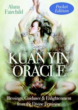 *Australian* Kuan Yin. Radiant with Divine Compassion. Be inspired by the loving presence and guiding voice of the Goddess Kuan Yin in this unique pocket oracle! These exquisitely illustrated cards, featuring heart-opening messages of guidance from the Feminine Divine will nourish you daily on your spiritual path, leading you to a place of inner peace and beauty.