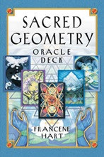 The first divination tool based on the ancient science and sacred language of geometry. A 64-card deck with original artwork by nationally recognized visual artist Francene Hart. Allows readers to balance their energy fields and access higher levels of consciousness. Comprehensive guide includes spreads, card explanations, and reflective insights from a wide variety of sacred traditions.