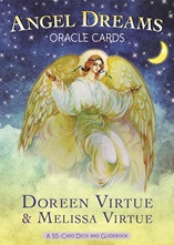 The Angel Dreams Oracle Cards is a 55-card deck, which illustrated each of the most common dream symbols. The guidebook to accompany this card deck gives you step-by-step instructions on how to conduct accurate and trustworthy dream readings to resolve your deepest questions and concerns. It explains the meanings of the 55 dream symbols in the deck and provides specific details that can shine light upon your unconcious mind. Harness the power of your dreams to steer yourself in your desired directions!