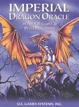 Dragons have a long history of offering pearls of wisdom. Find strength and insight in the Imperial Dragon Oracle, and let it guide you on your spiritual path. Booklet presents background on dragons as well as card meanings.