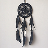 Dream Catcher - 16cm Black