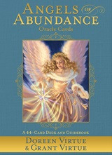 Everyone has an equal opportunity to receive the ever-flowing bounty and support Heaven continuously provides. Yet, we can unknowingly put up blocks on our path of abundance. If money worries are blocking you from the path of greater well-being and happiness, this 44-card deck and accompanying guidebook will allow you to identify, heal, and remove them. The Angels of Abundance Oracle CardsbyDoreen Virtue and Grant Virtue(co-authors of the best-selling book and online video course of the same name) offer you specific insights and guidance from the specialty angels who ensure that your Heavenly mission here on Earth isn't hampered by lack. The Angels of Abundance wish to help you manifest support for your earthly needs, life purpose, and charitable giving . . . so you can enjoy the blessings that are your Divine birthright!