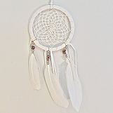 Dreamcatcher with Earth Stones