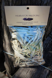 Herbs for Smudging - Grandfather White Sage - Purification