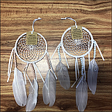 Set of 2 Whire and Peach