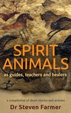 """About SPIRIT ANIMALS: Spirit Animals as Guides, Teachers and Healers is a compilation of articles penned over the years by Dr. Steven Farmer about a topic very dear to his heart: how animals can serve as spiritual messengers to help guide, teach and heal us. Although this subject is covered in detail in some of his other books and products including his best-selling Animal Spirit Guides and Pocket Guide to Spirit Animals, this book offers a different perspective and shares true life stories of experiences with spirit animals. As Dr. Farmers says, """"As you read these stories, I'm sure you'll find yourself intrigued by the entire topic."""" Dr. Farmer has witnessed many examples of how the natural world communicates with us, particularly through the animals that show up in physical reality or in consciousness. Spirit Animals as Guides, Teachers and Healers is designed, as Dr. Farmer says, to show how simple it is to learn from these spirit beings, so that we may become better listeners with our ears, eyes and other senses. The more we pay attention and """"listen"""" with all our being, the more we will come to discern and understand their messages."""