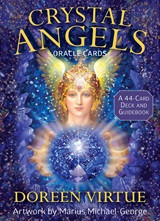 Each archangel has a different specialty, which corresponds to the healing energies of crystals. InDoreen Virtue's book Crystal Therapy, she discussed how angels and crystals work together to promote abundance, provide protection, attract romance, and more. Now, in theCrystal Archangel Oracle Cards, you can access their combined power to inspire self-confidence and deliver courage to make positive changes in your life. Each of the 44 beautiful cards features an archangel and accompanying crystal, while the companion guidebook explains their meanings and messages so you can give yourself, your friends, and your clients accurate readings.
