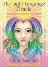 Chloe Metcalf's debut oracle deck has finally been birthed into our reality! This unique 52-card deck and guidebook offers an opportunity to connect with our Spirit Guides on a multitude of levels. For example, the cards in this deck contain Light Language designed to open the channel to communicate with your Guides and your Higher Self. Light Language is healing in its essence; spoken or written, the words come from the heart-space and allow the subconscious mind to connect with the written Codes so that we may heal on deep cellular and spiritual levels. This fresh new perspective, channelled by an Indigo soul, will take you on a journey supported by a multicultural and multi-dimensional assembly of Guides. So, with the help of these cards, connect with Light Beings, animals, goddesses