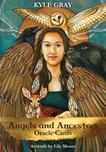 A one-of-a-kind oracle card deck that combines Angelic guidance with Aboriginal, Native American, Celtic, and Earth based spiritualities. We have many guides who are helping us navigate through all our earthly challenges. Our strongest guides come in the form of Angels and Ancestors, and this card deck will teach you to strengethen your connection with these wise beings. Angels are divine beings that echo the heart of love. These incredible spirits are pre-human intelligent souls and are here to monitor the wellbeing of all sentient beings. The Angels are formless, but have appeared with form through the four corners of the world with different names and different faces. However, their essence and mission remains the same: to love, help and guide. The Ancestors are the souls of departed wisdom keepers from all parts of the world. They are the wise ones, warriors, medicine people, shamanic healers and all those who had knowledge that helped their people grow and develop. Just like Angels, the Ancestors can be called upon in prayer, meditation, and ceremony to help bring healing, change, and support from the other worlds. Together the Angels and Ancestors bring a powerful offering of wisdom that can help us in our spiritual and physical life. The Angels offer a non-judgemental, wholly loving energy that can help us feel safe and guided. The Ancestor spirits offer us experience - they know what it's like to walk the Earth and learn about Her magic and medicine. With this powerful oracle you are given an opportunity to bridge the gap between this world and the other. You hold within your hands a key to great insightful medicine wisdom that will echo what you already know deep within. The Angels and Ancestors know what you need to know, and through this practice of connection and ceremony, you allow them to bring messages that will help you carve your path and live a life that is filled with magic.
