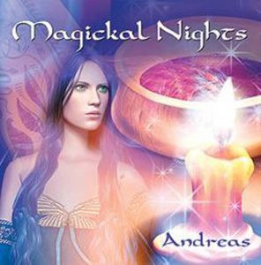 Following on from his award winning album Nature Angels (COVR Best New Age album 2010) Andreas has created an album for those who want to bring magick into their lives. Magickal Nights is not only mystical and romantic in its production but has been put together with great sensitivity and love for the Goddess. Andreas creates the perfect ambience for those wishing to bring the things we want into our lives through working with magick or simply losing themselves in a velvet night sky of enchanting music. Features acoustic guitars, piano, flute, chimes and strings.