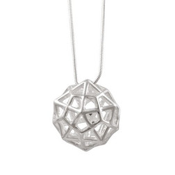 Christ Consciousness Grid Sterling Silver
