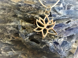 The Sacred Lotus Pendant Sterling Silver