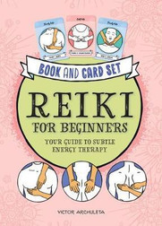 Reiki for Beginners Book and Card Deck.