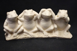 4 Frogs Statue of Right Behaviour