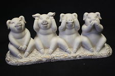 4 Pigs Statue of Right Behaviour