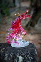 Fire Dragon - Red (Handcrafted Glass)