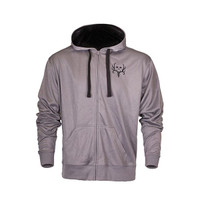 Men's Buried Full Zip Hoodie - Grey