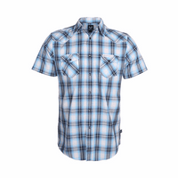 Mack Daddy Plaid Alaska Blue