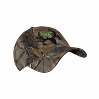 Bone Collector Camo Fitted Logo Cap