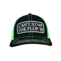 CSTF '19 Official Patch Hat | Black/ Neon Green