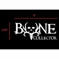 """6"""" Bone Collector logo"""