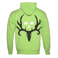 Signature Bone Collector Lime Hoodie