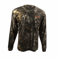 Bone Collector Logo Realtree and Orange L/S